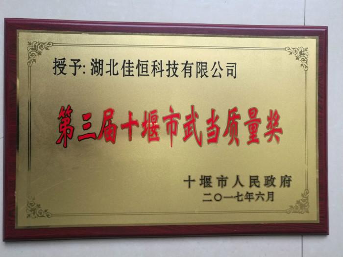 武当质量奖2017